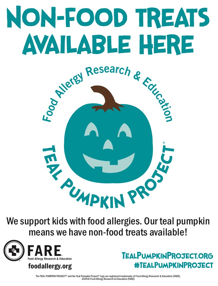 Teal Pumpkin Project Flyer