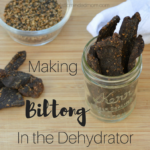 Making South African Biltong in the Dehydrator