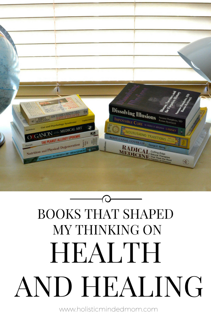 Books that shaped my thinking on health and healing.
